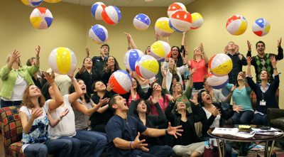 Allow your children's ministry staff and volunteers to have a little fun. It will be better for them in the long run.