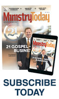 Ministry Today magazine cover