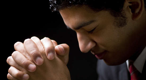 'Who will invite the Holy Spirit to lead the way and the day?' from the web at 'http://cdn.ministrytodaymag.com/images/stories/2015/misc/Businessman-praying.jpg'