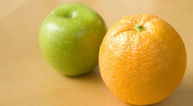 'Comparing your ministry with other believers' ministries is rarely beneficial.' from the web at 'http://cdn.ministrytodaymag.com/images/stories/2015/misc/comparison-apples-oranges.jpg'
