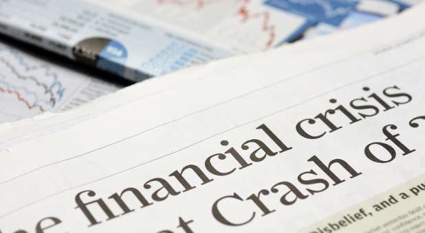 How will you, as a child of God, act in a major financial crisis?