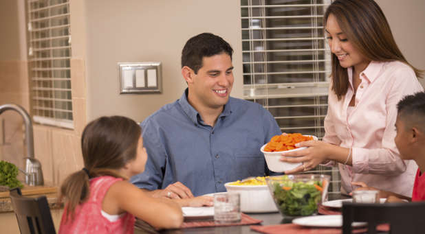 For some preachers, family dinners can be a rare occasion.