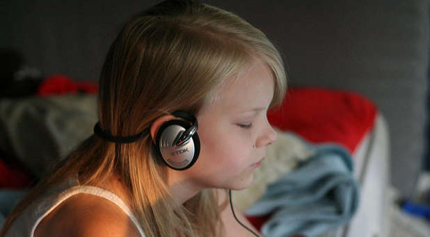 Make sure your children are getting a balance in what they listen to.