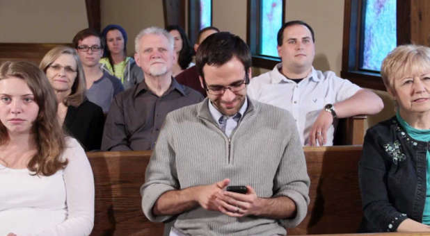 Smartphones should be used wisely during a worship service.