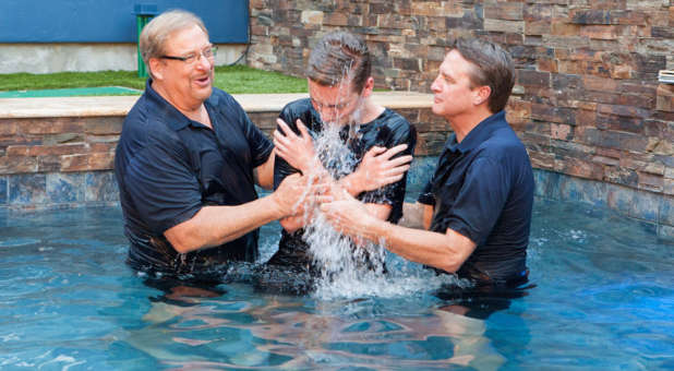 In 36 years, Saddleback Church has seen more than 47,000 baptisms performed.