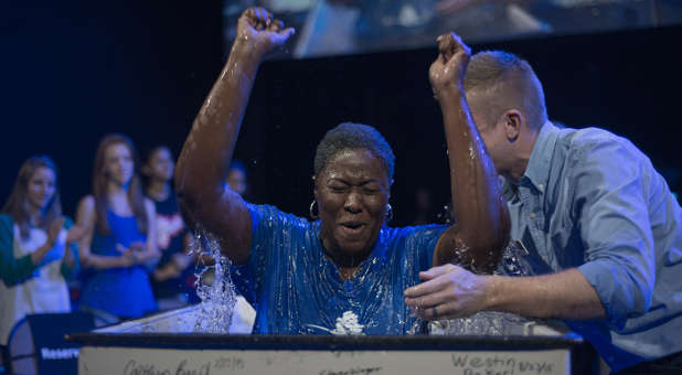 The desire to be baptized sends a clear signal of the hunger for God.