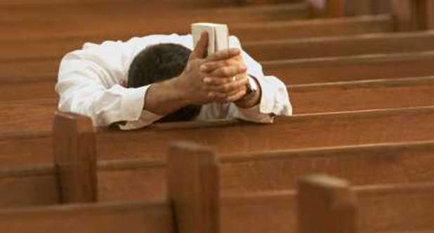 Because of the church's current state, leaders should be praying daily for it.