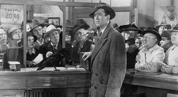 George Bailey knew exactly what to do in a major crisis.