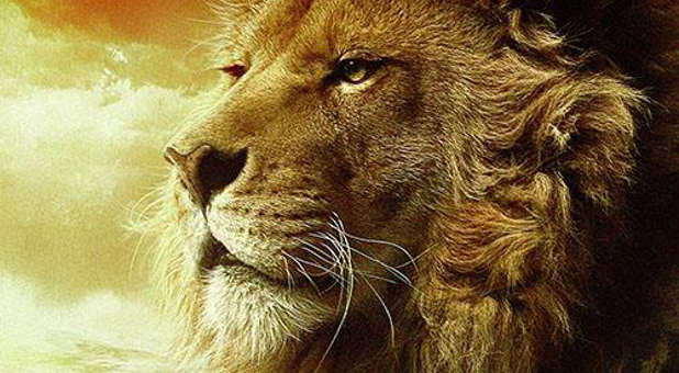 Aslan from 'The Chronicles of Narnia.'